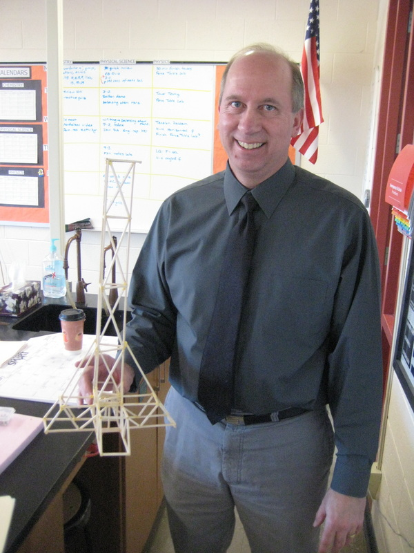 how to build a balsa wood tower